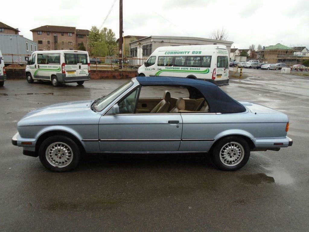 Bmw 325i 2 5 Auto Lhd E30 Convertible 1990 Glacier Blue For Sale Classic Cars And Campers