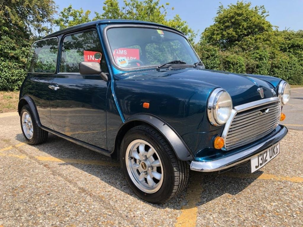 1991 Rover Mini Mayfair 1000cc Caribbean Blue Low Mileage For Sale Classic Cars And Campers