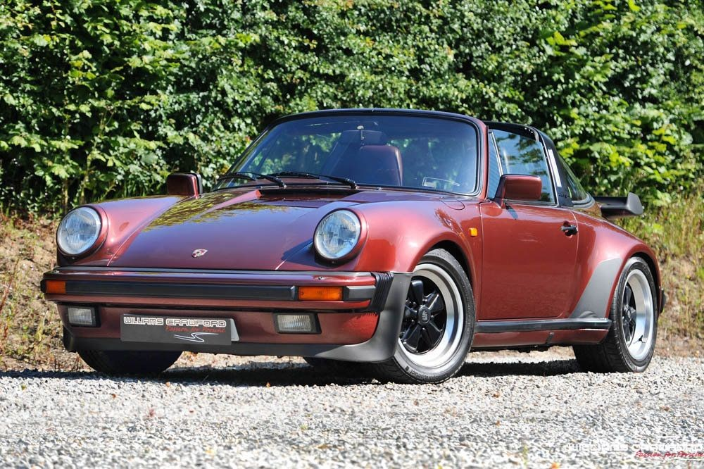 1986 Porsche 911 Carrera 3 2 Turbo Look Sse Targa For Sale Classic Cars And Campers