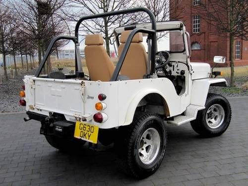 Mitsubishi Jeep J53 Willys 2 7 Diesel 4x4 Soft Top For Sale