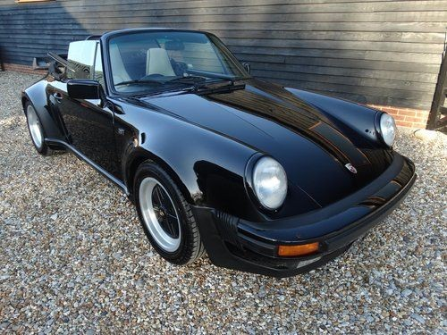 1987 Porsche 911 Turbo Convertible For Sale Classic Cars And Campers