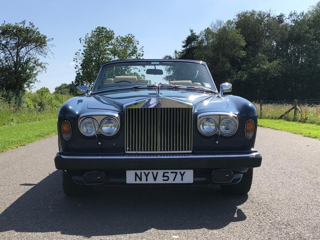 1982 Rolls Royce Corniche Convertible For Sale Classic Cars And Campers