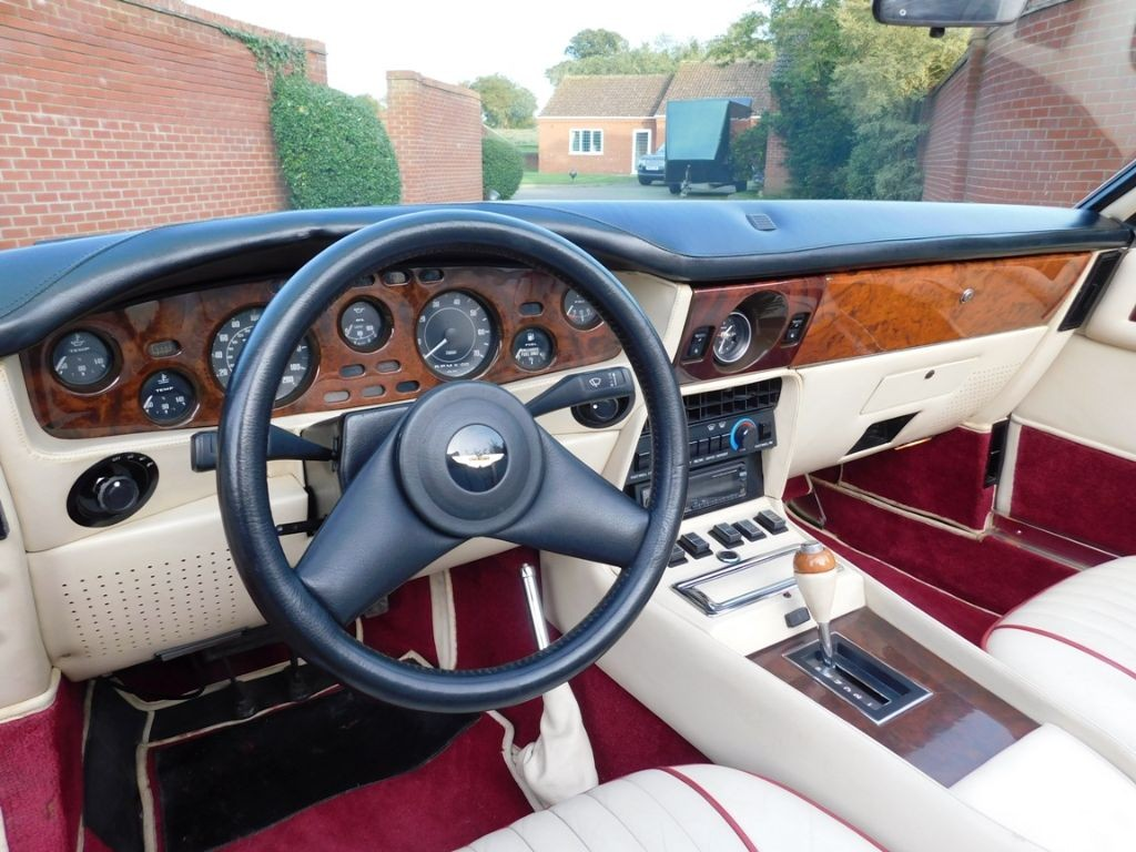 1988 Aston Martin V8 Vantage Volante Lhd For Sale Classic Cars And Campers